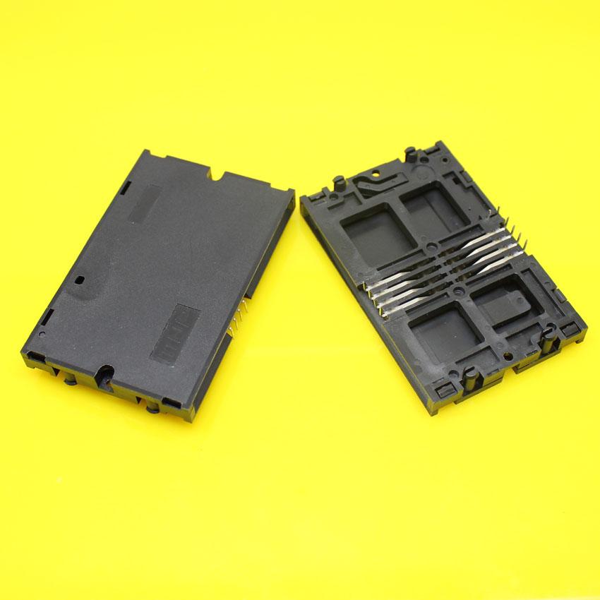 Brand New 2pieces 10P IC Smart CARD socket reader slot reader holder connector.(China (Mainland))