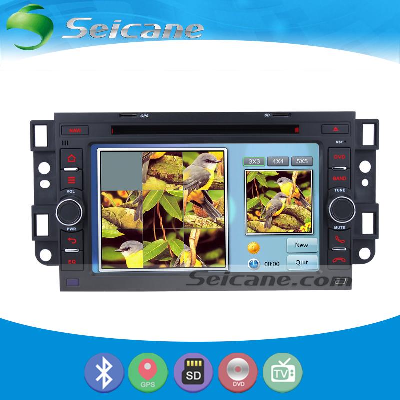 Seicane Cheap GPS Navigation System Radio For 2002-2011 Holden Barina Epica Captiva With DVD Player Bluetooth 1080P Video(China (Mainland))