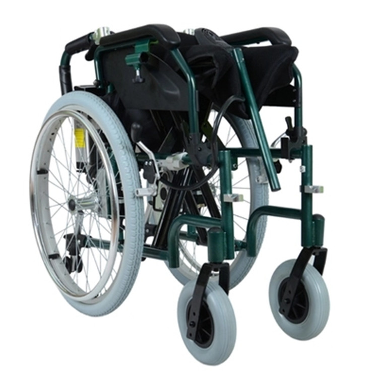 Popular lightweight electric wheelchairs folding buy cheap for Lightweight motorized folding wheelchair