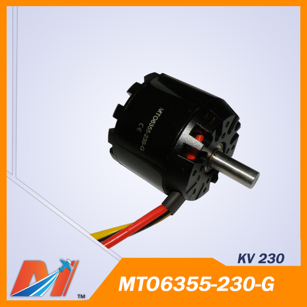 Maytech 6355 rc Airplane brushless electric outrunner motor 230KV(China (Mainland))
