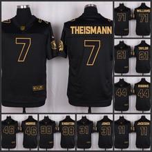 The 50 anniversary black gold men Elite Washington Redskins 91 Ryan Kerrigan 88 Pierre Garcon 28 Darrell Green 8 Kirk Cousins(China (Mainland))