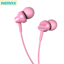 Ones Original REMAX Earphone In-ear Earbuds With Microphone/Mic Retail Box High Bass Quality Noice Reduction Free Shipping