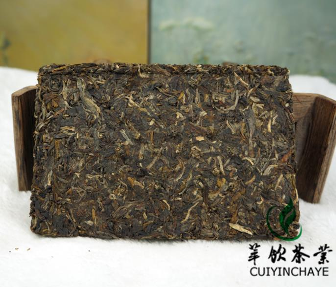 Chinese yunnan puer tea classic 1999 raw  brick 250g pu e tea puerh for health care and lose weight cheap