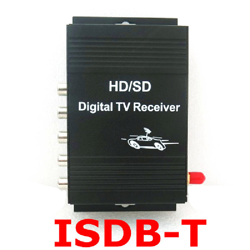 2016 Hot sale New Mobile ISDB-T Brazil (One seg) Digital TV receiver with 250KM/H&frequency:174-216MHZ & 470-806MHZ(China (Mainland))