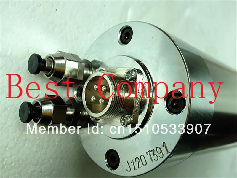 Купить 800 Вт водяным охлаждением шпинделя двигателя ER11 220В деревообрабатывающие 0.8kw мотор шпинделя фрезерные с чпу Водяного охлаждения