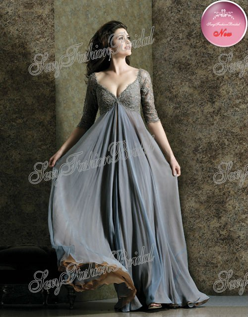 long sleeve empire waist dress « Bella Forte Glass Studio