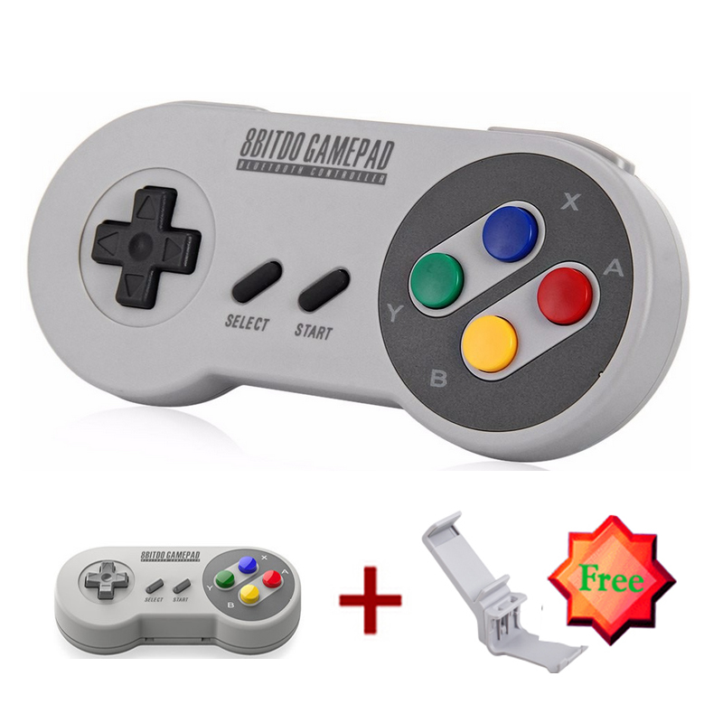8Bitdo SFC30 Wireless Bluetooth Gamepad Game Controller for iOS Android PC with Xtander for SFC30/SNES30(China (Mainland))