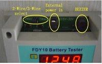 Тестер аккумуляторной батареи HT ni/cd 1/20v Pb ni/mh + FDY10-S