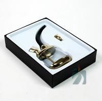 Личный кальян мундштук некурящих воды фильтр циркуляции сигарет кальян для здоровых золото и серебро