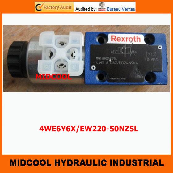 Фотография high quality hydraulic valve 4WE6Y6X/EW220-50NZ5L