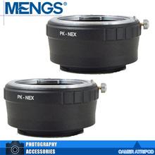 Buy MENGS 2Pcs per pack PK-NEX Lens Mount Adapter Ring Aluminum Copper Material Lens NEX Camera Body, 14150003801 for $11.49 in AliExpress store