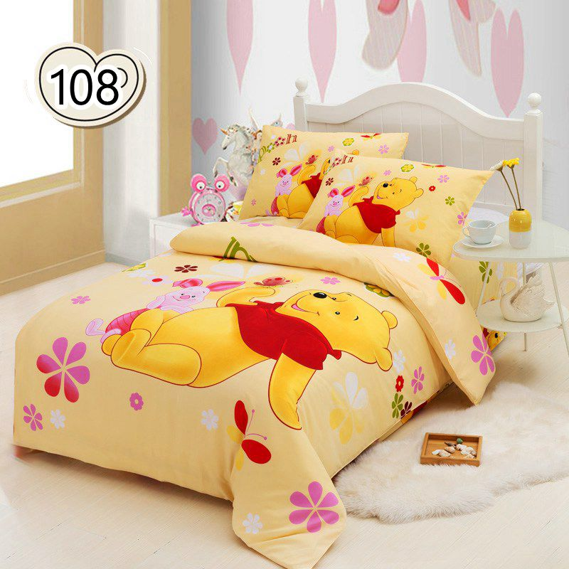 Wholesale Winnie The Pooh Bedding Sets Kids Mickey Bed Set