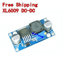 Free shipping 1pcs XL6009 DC-DC Booster module Power supply module output is adjustable Super LM2577 step-up module(China (Mainland))