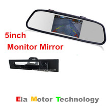 Buy 5'' Car Mirror Screen Car Monitor Auto Parking Assistance + Night Vision Car Reverse RearView Camera Cadillac SLS 2010~2015 for $51.25 in AliExpress store