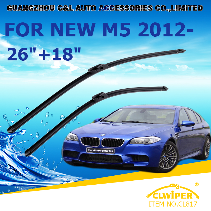 """For BMW NEW M5 (2012- ),Exclusive Car Windshield Windscreen Wiper Blade 26""""+18"""" Fast shipping Cars styling accessories(China (Mainland))"""