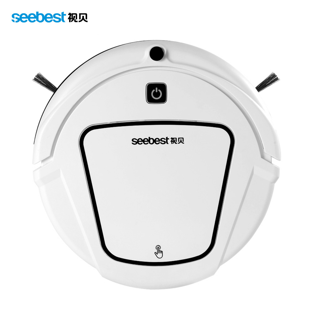 Seebest D720 MOMO 1.0 Basic Model Robot Vacuum Cleaner with Big Dry Mop and 2 Side Brush(China (Mainland))