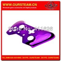 хром фиолетовый защитный чехол стойки для xbox одну замену оболочки