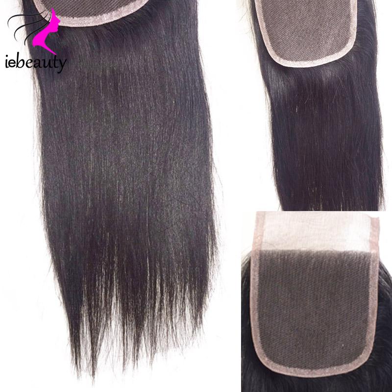 Malaysian Virgn Hair Straight Closure 7A Unprocessed Virgin Hair Closure 100% Human Hair Closure Virgin Malaysian Straight Hair(China (Mainland))