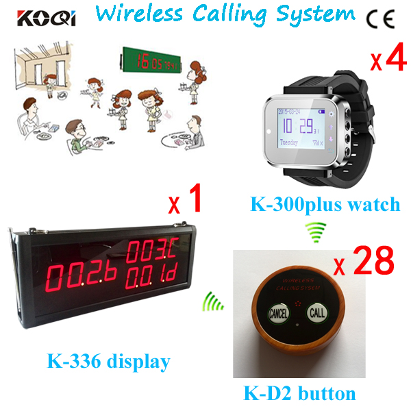 Ycall Hot Wireless , Guest Paging System , Restaurant Waiter Caller ,Table Push Call Button(China (Mainland))