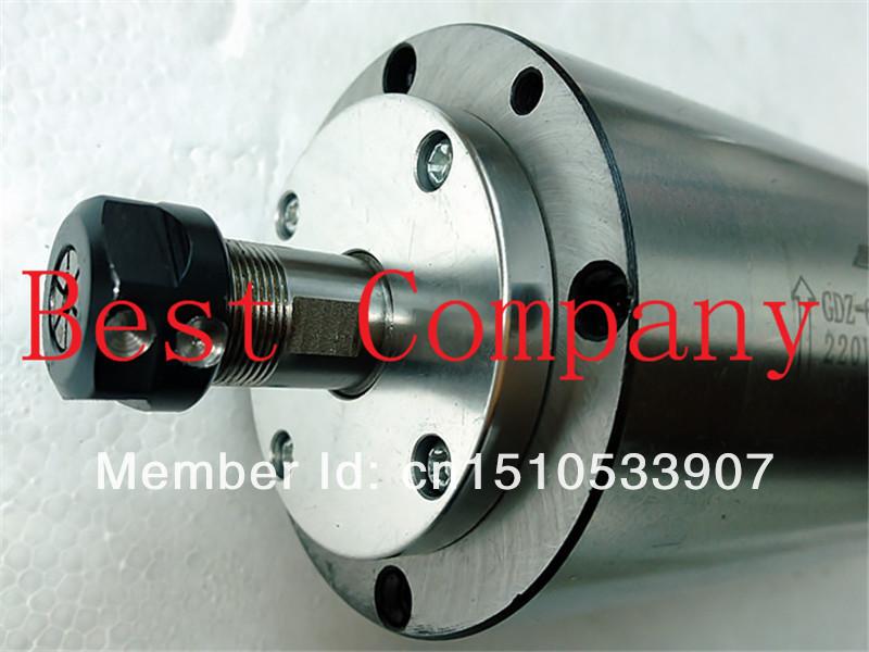 Купить P4 подшипник 195 мм длина 800 Вт шпинделя с чпу шпинделя двигателя 800 Вт мотор шпинделя для станков с чпу