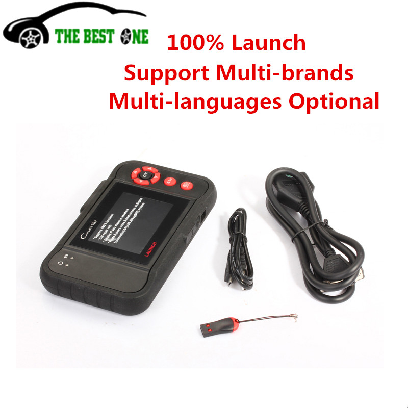 Launch X431 Creader VII+ 7 Plus OBDII EOBD Electronic Control System ABS SRS Tool Equal To Creader CRP123 Support Multi-brands(China (Mainland))