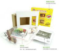 серии Европейский магазин DIY Хат королева магазин подарок идеи собраны модели пара подарок