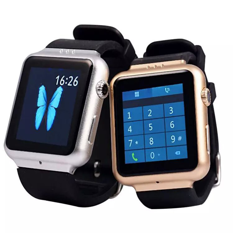Hot Selling T8 Smart Watch Android Kitkat 4.4 2G GSM 3G WCDMA Bluetooth V4.0 WiFi GPS+AGPS FM Radio Pedometer Wholesale 5pcs/Lot<br><br>Aliexpress