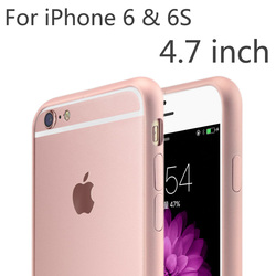 CinkeyPro Metal Frame Cover Cell Mobile Phone Bag Cases Luxury Aluminum Bumper Case For Apple iphone 6 iPhone6 6S 4.7 inch Plus