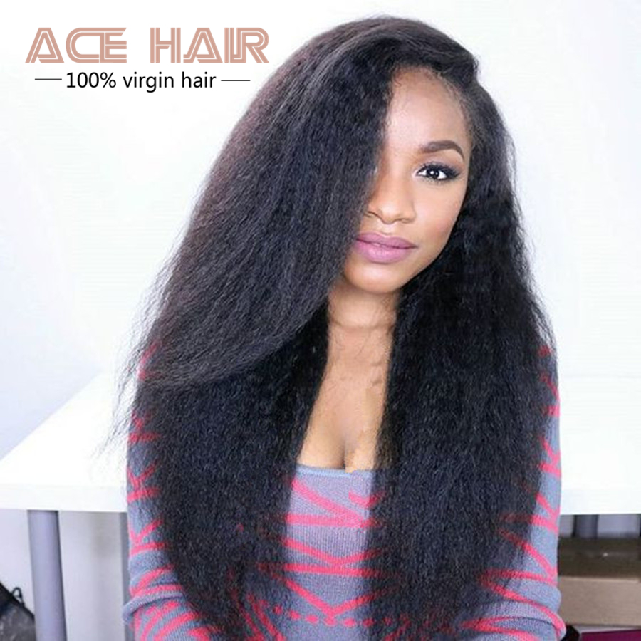 6A Malaysian Virgin Hair Kinky Straight Human Hair Weave 3pcs Lot , Virgin Hair Malaysian Straight Hair Human Hair Extensions