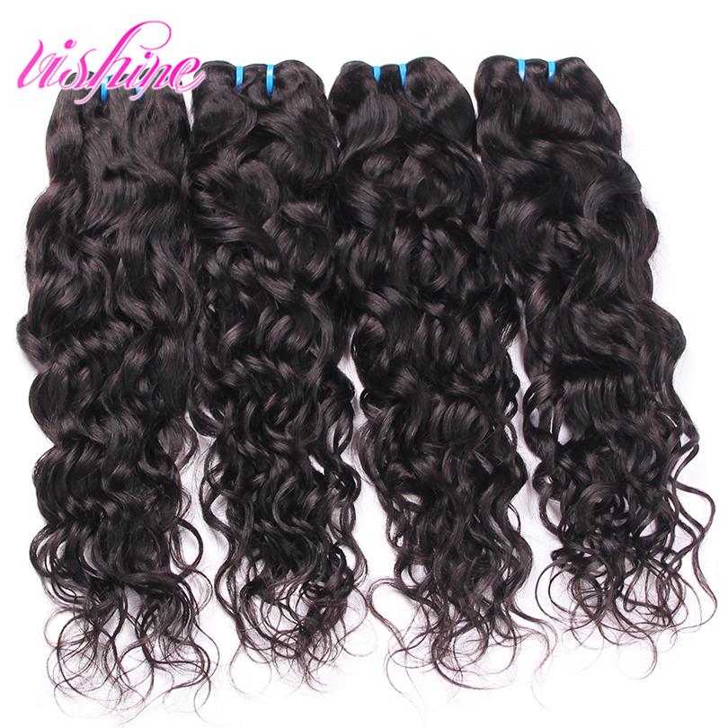 Ship From United States/USA via USPS Peruvian Water Wave Hair Peruvian Virgin Hair 4Pcs Deals Unprocessed Ocean Wavy Human Hair<br><br>Aliexpress