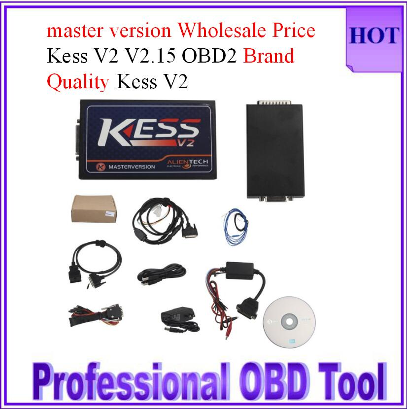 Free DHL KessV2 2.23 OBD2 Manager Tuning Kit Wholesale Price kess v2 master high Quality kess v4.036 with one year warranty(China (Mainland))