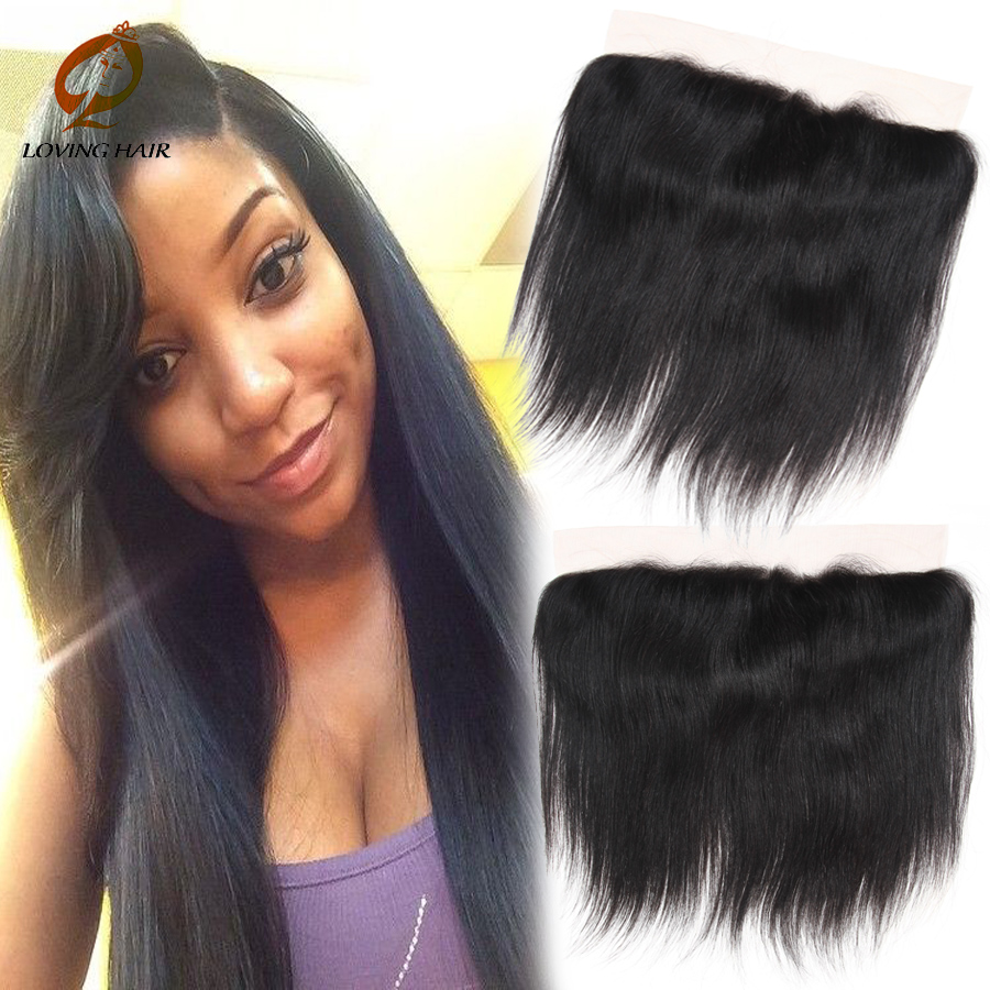 brazilian straight lace frontal closure full lace frontal brazilian closure free part unprocessed virgin striaght lace frontal<br><br>Aliexpress