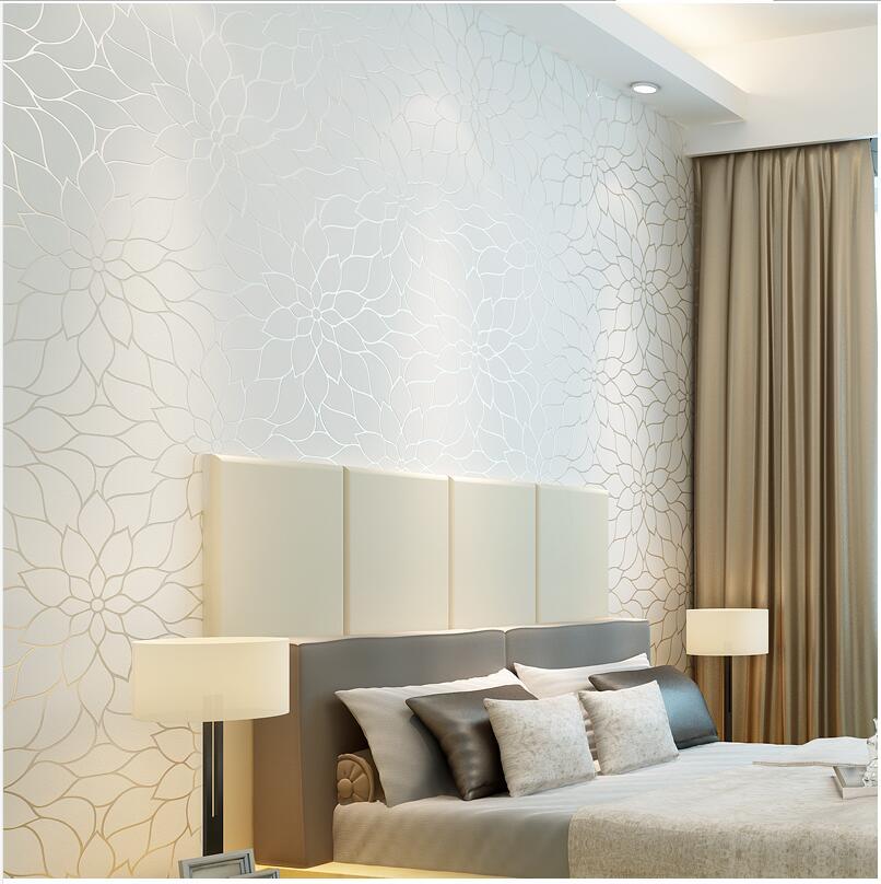 Online kopen wholesale grote bloem behang uit china grote bloem behang groothandel - Wallpaper volwassen kamer trendy ...