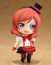 Kissen Cartoon Anime Love Live Nishikino Maki Action Figures Collection Model Doll Toy Brinquedos Gift For Children