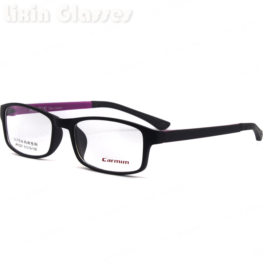 Eyeglass Frame Cleaning : New High Quality Women Hinge TR90 Black clean lens Glasses ...