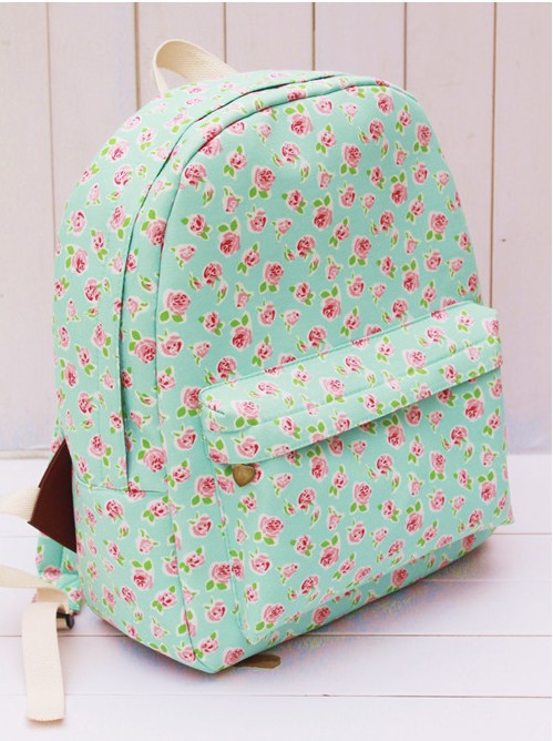 Wholesale-Girls High School Rucksack Children Cute Floral Designer ...