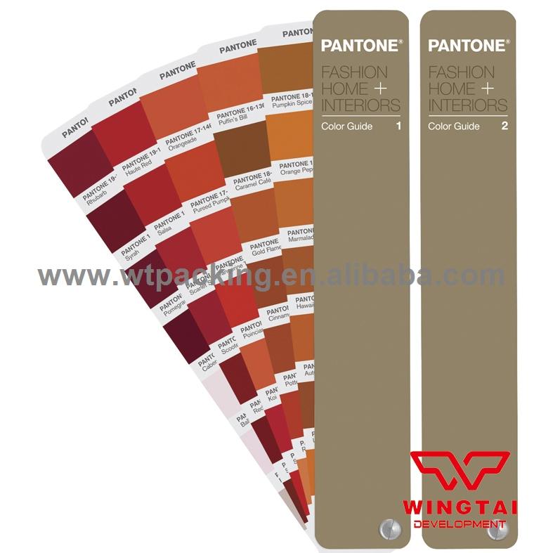 2016 International Standard 2100 Kinds of Pantone Color PANTONE Color Guide TPG FHIP100(China (Mainland))