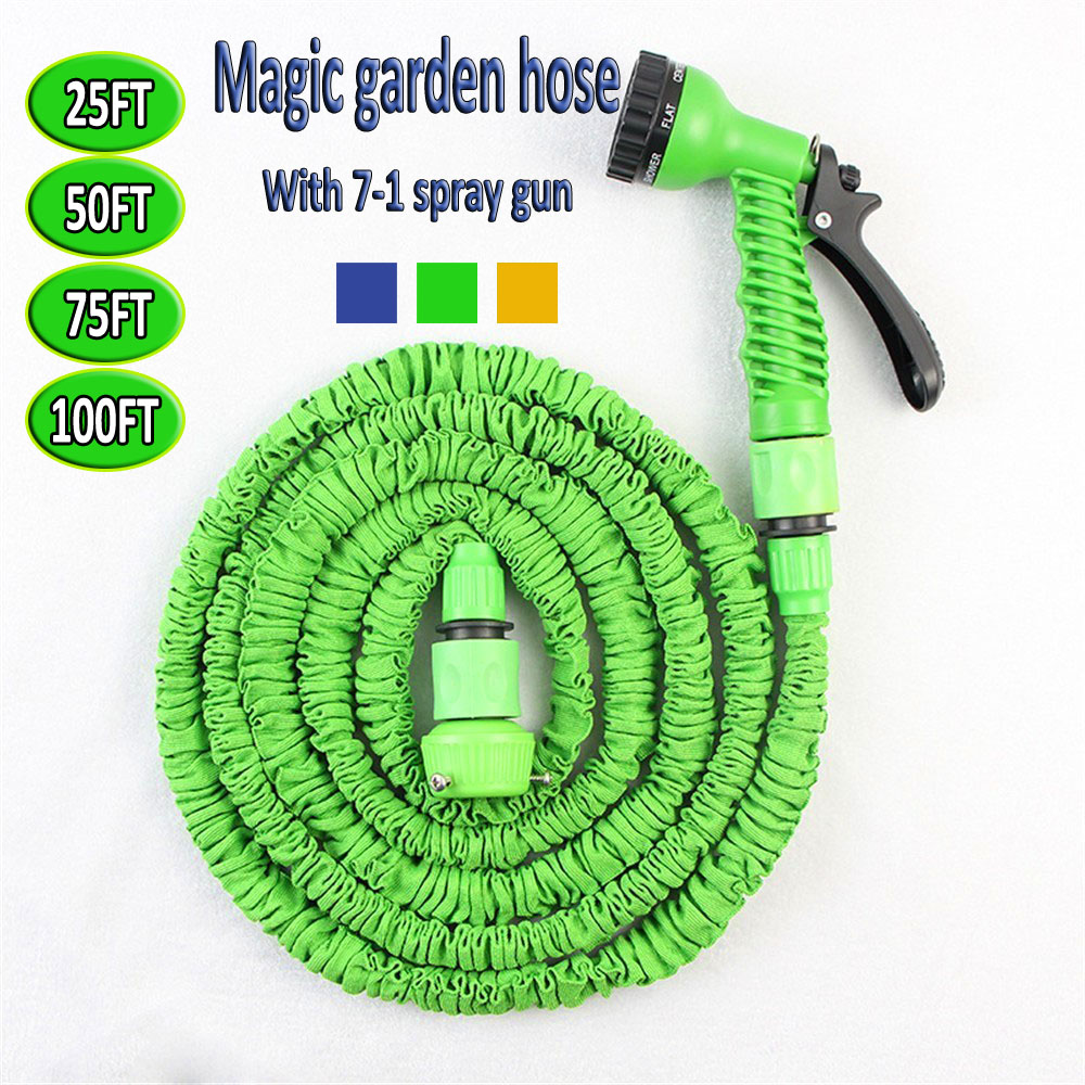 2016 hoses for watering expandable garden hose tuinslang. Black Bedroom Furniture Sets. Home Design Ideas