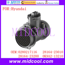 Buy New Mass Air Flow Sensor use OE No. 0280217116, 28164-23010, 28164-23200, 0K9A2-13210 Hyundai ) for $25.80 in AliExpress store