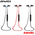 Awei A960BL Sport Wireless Headphones Bluetooth Earphones Stereo In ear Headset Voice control Noise Reduction with