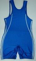Вы могли бы себе дизайн Мужская борьба синглетно gear в bodywear синий цвет для человека