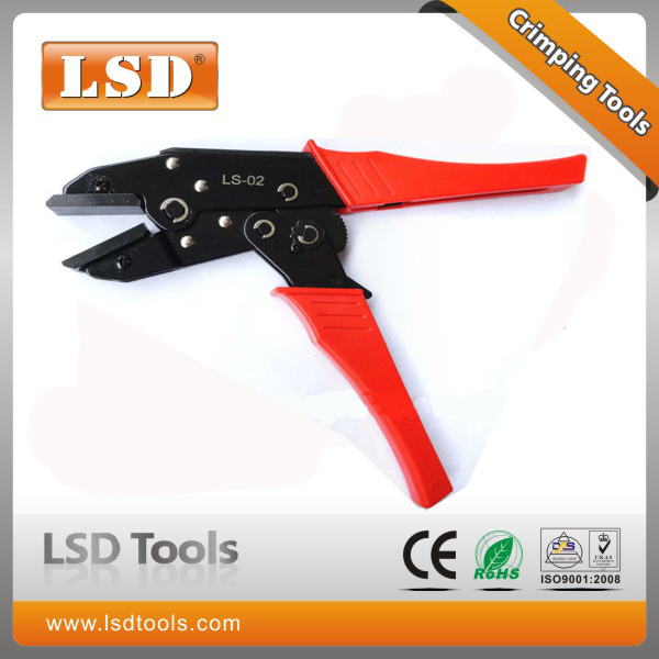 LSD specializes in high quality tool manufacturing LS series manual crimping tool LS-02 for connector special pliers(China (Mainland))