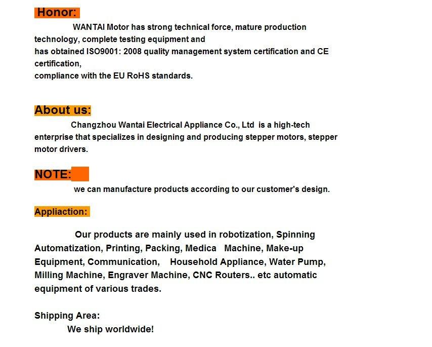 Купить Лучший Продавец! Wantai 5 ШТ., 2 фазы, 4-проводной Nema 17 Шаговый Двигатель с 4000g. cm, 1.7A ЧПУ Робот 3D Reprap Принтер (CE, ROSH) 42BYGHW609