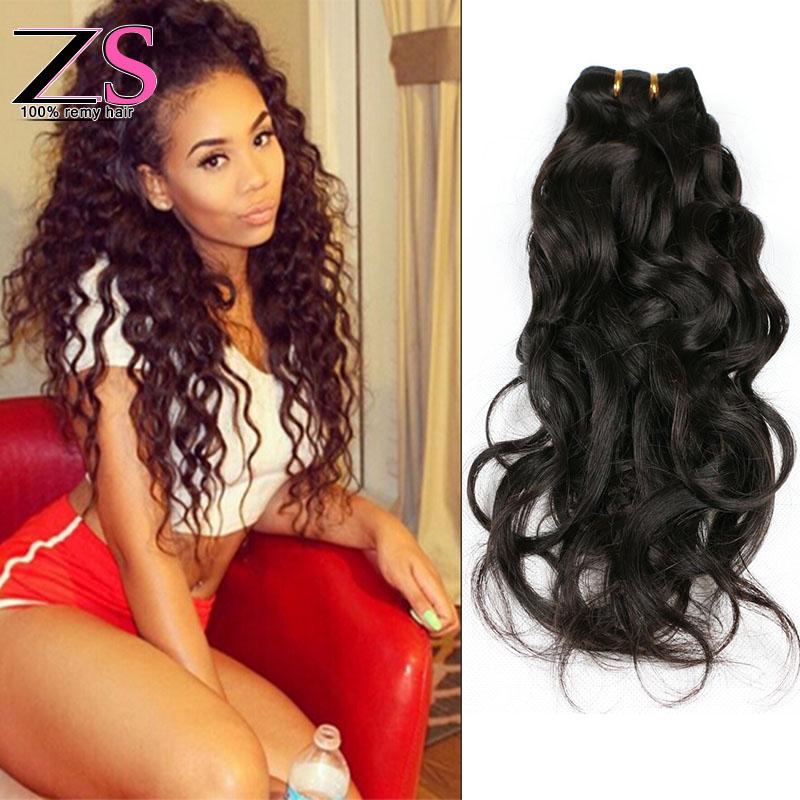 Brazilian Water Wave Virgin Hair Queen Hair Brazilian Natural Wave 4 Bundles Brazilian Ocean Wave Brazilian Hair Weave Bundles<br><br>Aliexpress