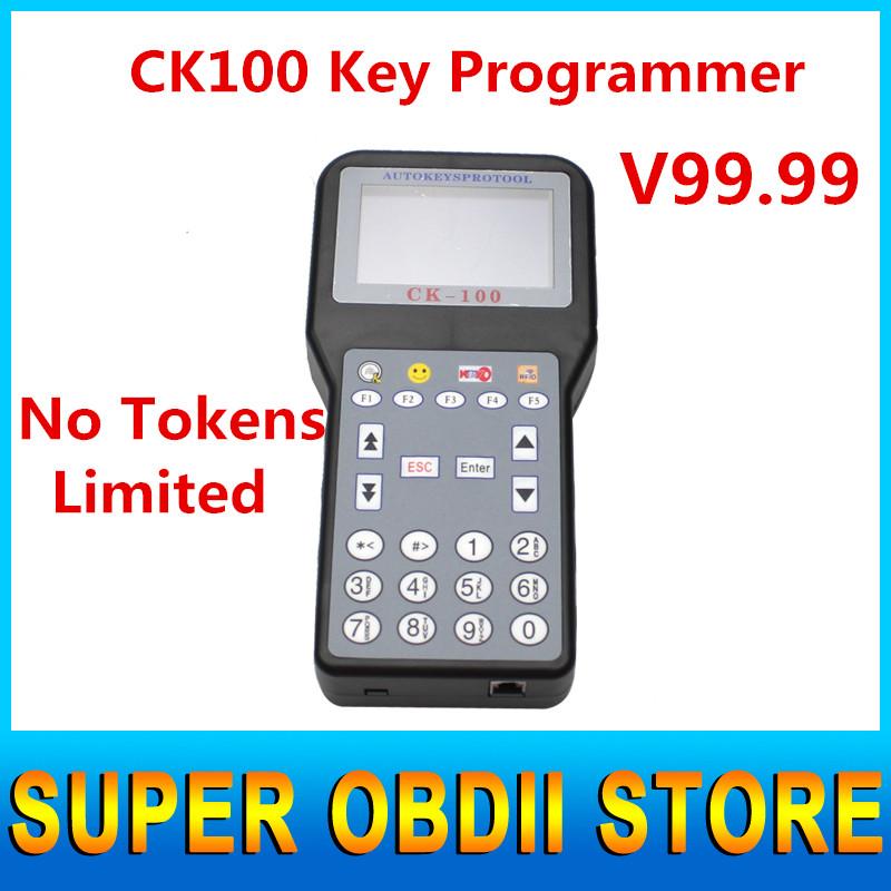2016 New Universal V99.99 CK100 Key Programmer 7 Languages CK 100 Car Key Programming Tools No Tokens Limited CK-100 Key Pro(China (Mainland))