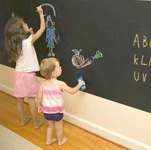 60x200cm Chalk Board Blackboard Stickers Removable Vinyl Draw Decor Mural Decals Art Chalkboard Wall Sticker For Kids Rooms(China (Mainland))