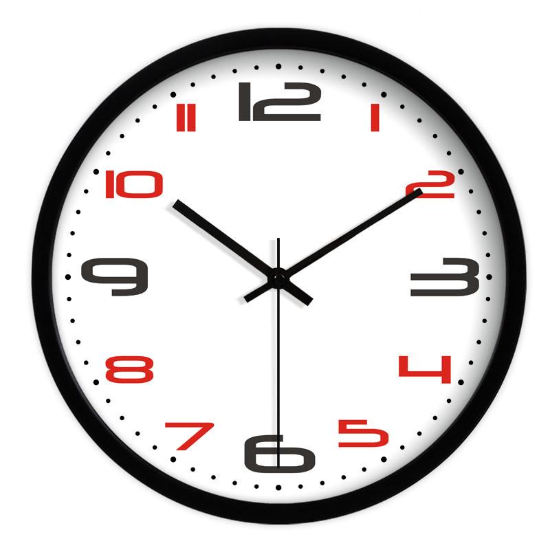 Contemporain horloges promotion achetez des contemporain for Horloge murale grande taille