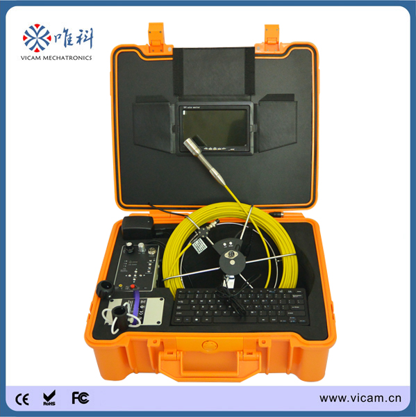 Meter Counter 30m Sewer Inspection Camera,CCTV Pipe Inspection System,Drain Inspection Camera(China (Mainland))
