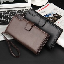 For Lg G5 G4 G3 G2/Huawei P9 P8 Lite/Xiaomi Mi5 Mi4 Accessories Men Wallets Phone Case Coin Pocket With Zipper,Leather Purse Bag(China (Mainland))