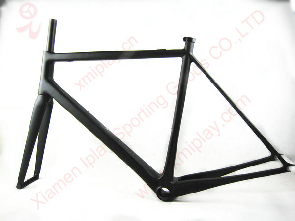 2016 New design fixed gear carbon frame fork BB79 Carbon Fixed Gear Frame Single Speed Frames UD Matt(China (Mainland))